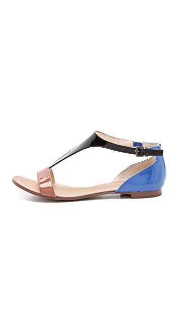 Boutique 9 Piraya Colorblock Sandals