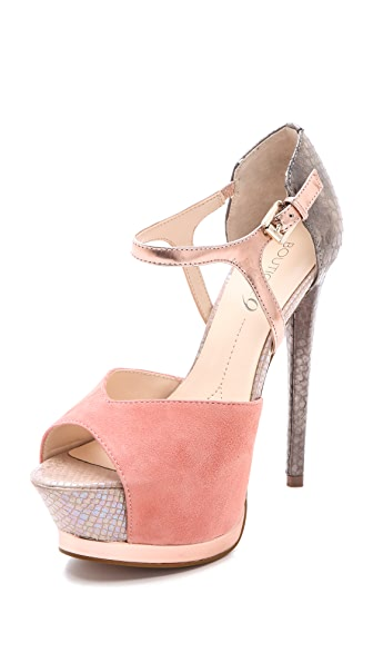Boutique 9 Nerissa Open Toe Pumps