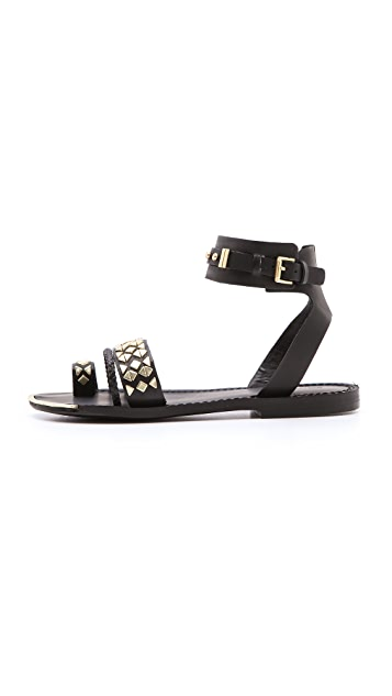 Boutique 9 Pahana Studded Flat Sandals