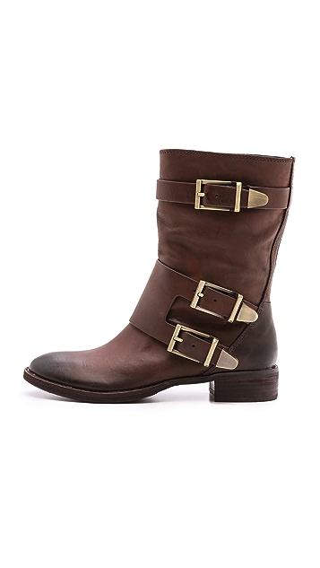 Boutique 9 Radannah Low Heel Buckle Boots
