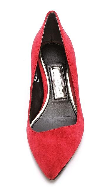 Boutique 9 Sophina Kitten Heel Suede Pumps
