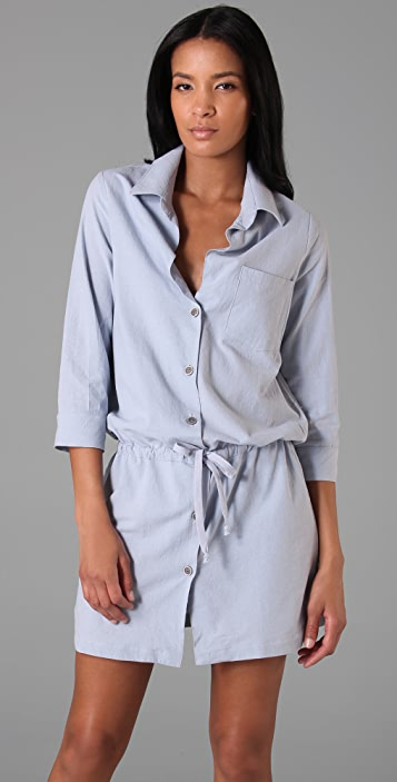 BOYFRIEND/GIRLFRIEND Boyfriend Shirtdress