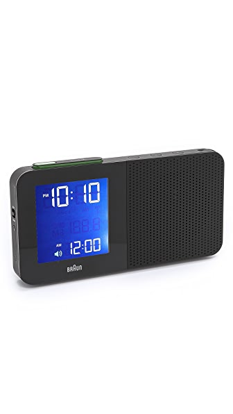 Braun Digital Radio Alarm Clock