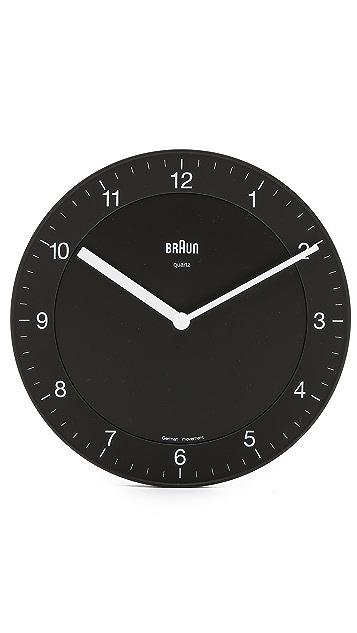 Braun Wall Clock
