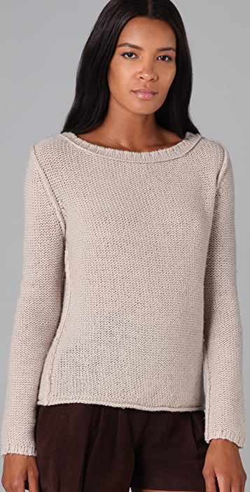Brochu Walker Boat Neck Sweater