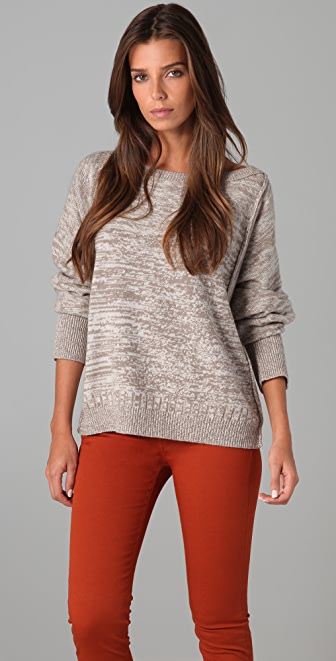 Brochu Walker Tweedy Dolman Sweater
