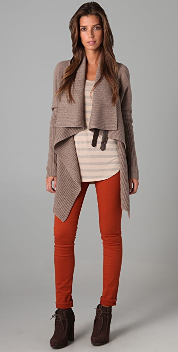 Brochu Walker Buckle Cardigan
