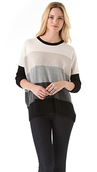 Brochu Walker Striped Crew Neck Sweater