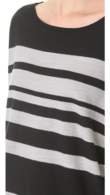 Brochu Walker Striped Dolman Top