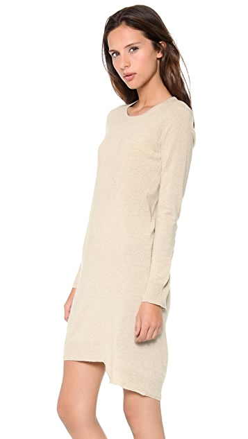 Brochu Walker Angled Cashmere Dress