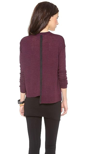 Brochu Walker Ribbon Vee Sweater