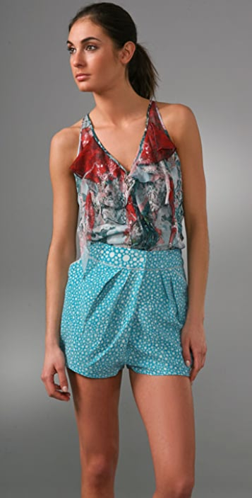 Brian Reyes Cocoon Blouse