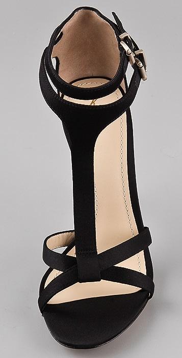 B Brian Atwood Laetitia T-Strap Sandals