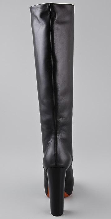 B Brian Atwood Pheonicia Platform Boots