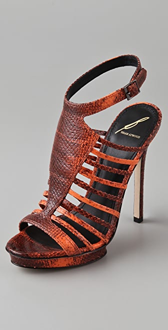 B Brian Atwood Calistta High Heel Sandals