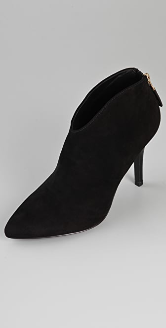 B Brian Atwood Kasadela Suede Booties
