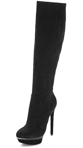 B Brian Atwood Faviera Knee High Boots