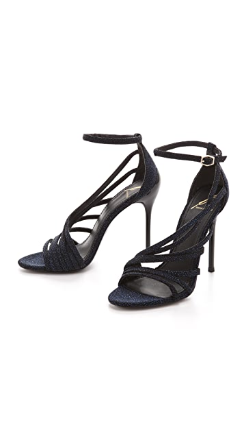 B Brian Atwood Lesina Sugar Paint Sandals
