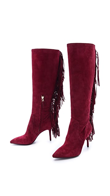 B Brian Atwood Mella Fringed Boots