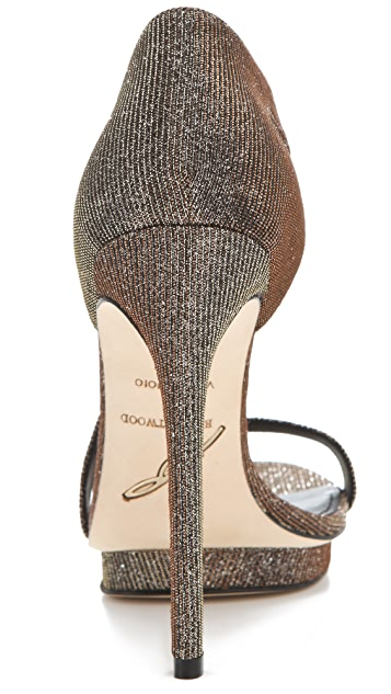 B Brian Atwood Consort Evening Sandals