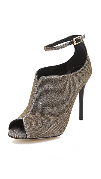 B Brian Atwood Liese Booties with Ankle Wrap
