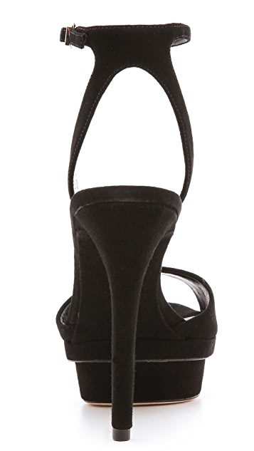 B Brian Atwood Femme Fatal Platform Sandals