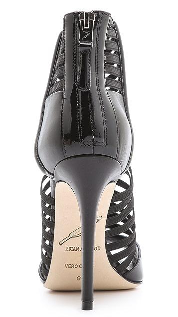 B Brian Atwood Langden Elastic Sandals