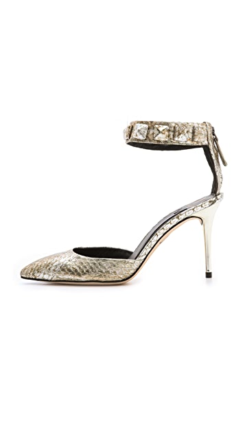 B Brian Atwood Mercada Ankle Strap Pumps