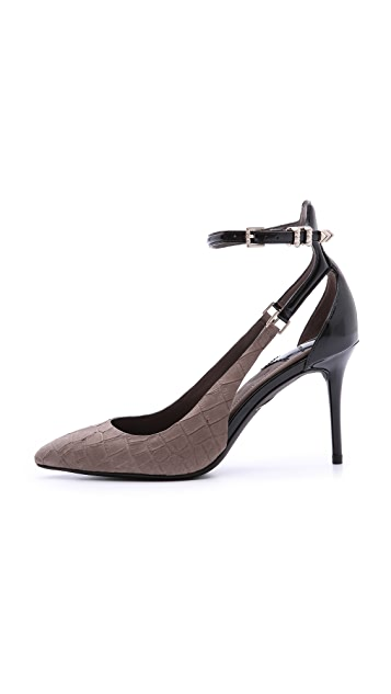 B Brian Atwood Marella Ankle Strap Pumps
