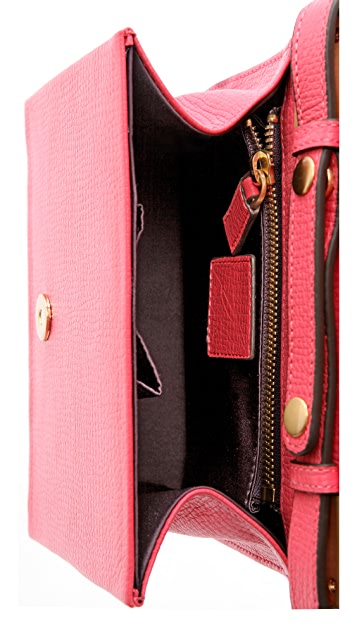 B Brian Atwood Top Handle Clutch