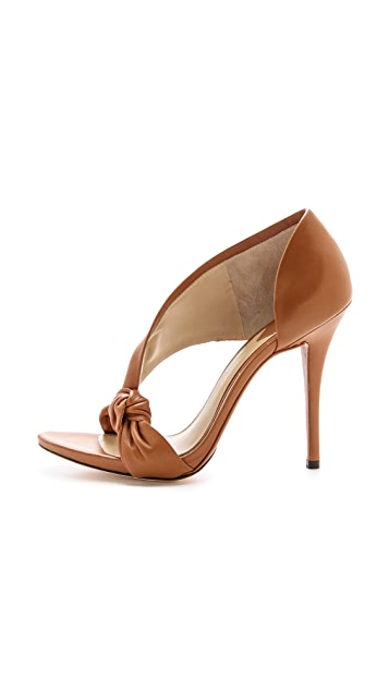 B Brian Atwood Chryssa Knotted Sandals