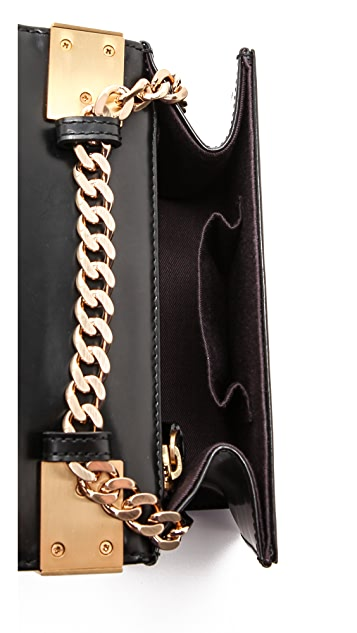 B Brian Atwood Ava Top Handle Clutch
