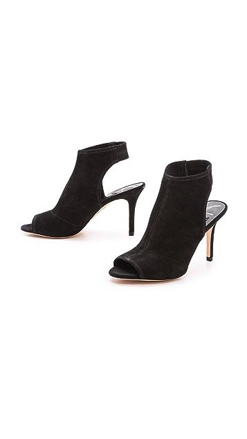 B Brian Atwood Elliana Mid Heel Sandals