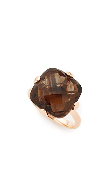 Bronzallure Faceted Cushion Cut Ring