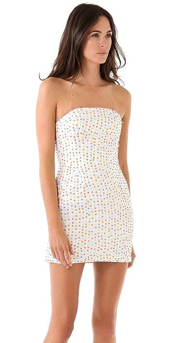 Brose Emily Strapless Beaded Dress