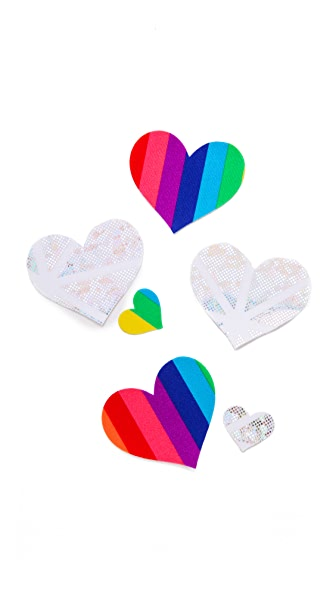Bristols 6 One Love Heart Nippies
