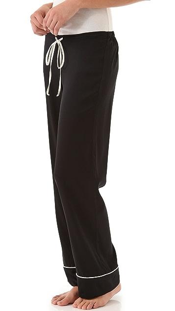 BRULEE Noir Pajama Pants