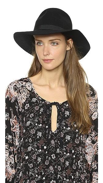 Brixton Dalila Hat - Black/Black at Shopbop