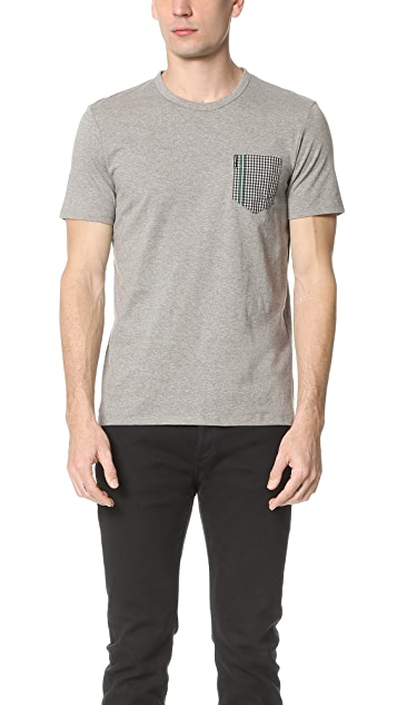 Ben Sherman Contrast Pocket Tee