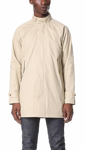 Ben Sherman Raglan Sleeve Mac Coat