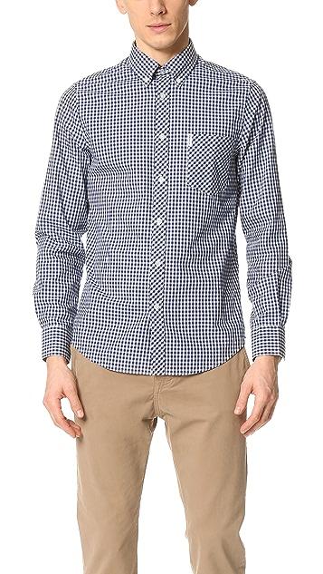Ben Sherman Gingham Button Down Shirt