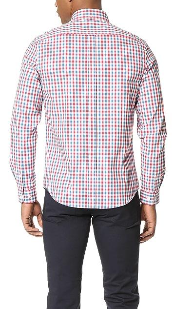 Ben Sherman Check Button Down Shirt
