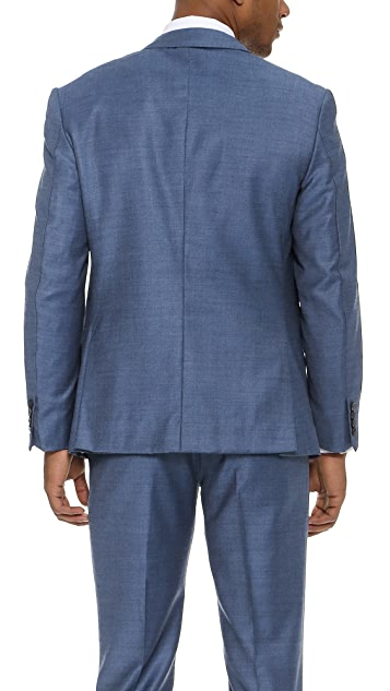 Brooklyn Tailors Wool Sharkskin Jacket