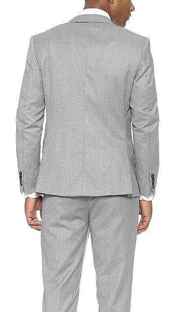 Brooklyn Tailors Handmade Super 120s Wool Twill Jacket
