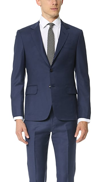 Brooklyn Tailors Super 120 Wool Suit Jacket