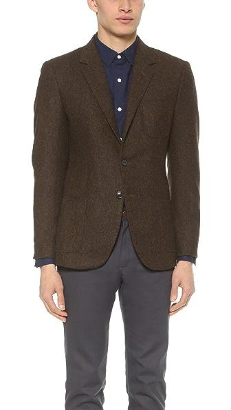 Brooklyn Tailors Tweed Herringbone Blazer