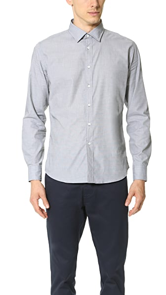 Brooklyn Tailors End on End Dress Shirt