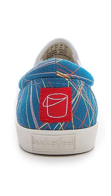 BucketFeet Lasers Slip On Sneakers