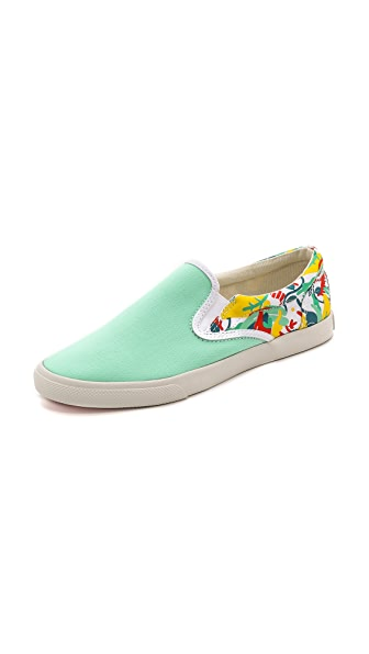 BucketFeet Tropical Slip On Sneakers