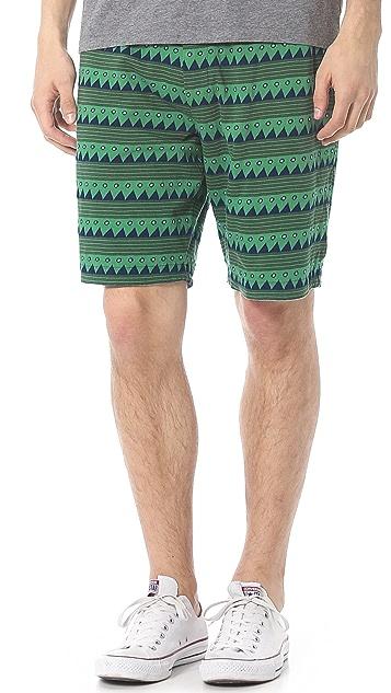 Burkman Bros. Reversible Jersey Shorts